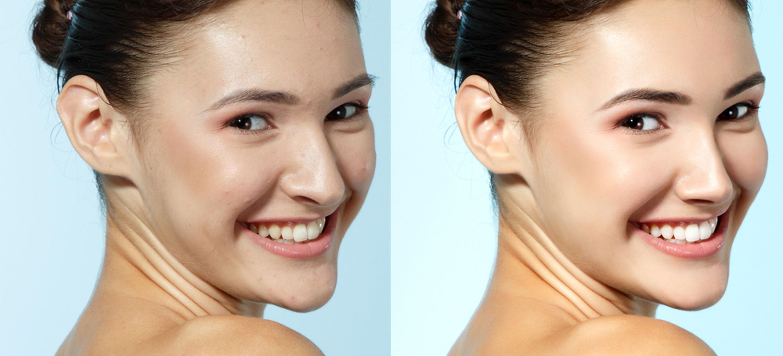10 skin retouching photoshop tutorials rephotosolution baditri Image collections